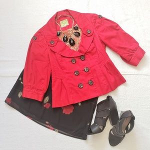 Red Jacket by Floreat of Anthropologie